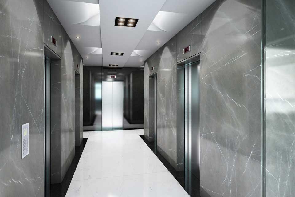 Elevators Hall Ground Floor