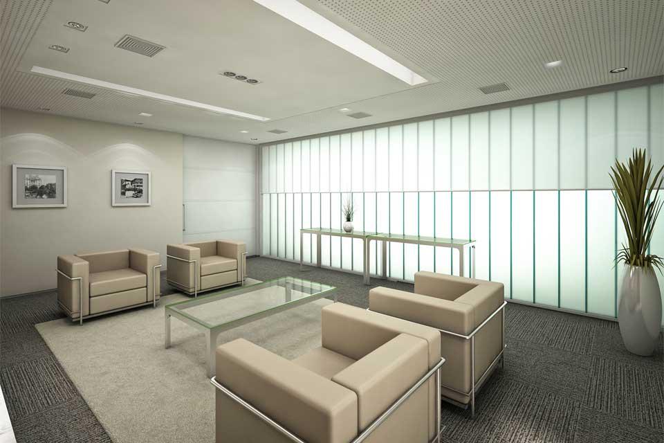 Lounge de Espera da Sala de Reunião Torre A