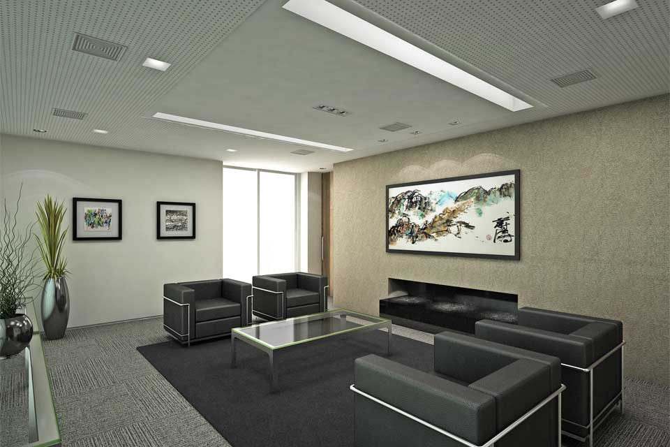 Lounge de Espera da Sala de Reunião Torre B